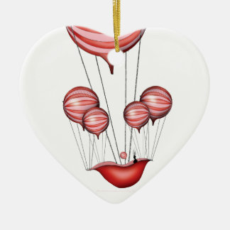 4) the gift - tony fernandes ceramic heart decoration