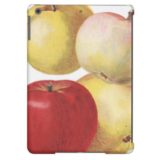 4 vintage apples illustrated case cover for iPad air