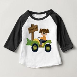 4 Wheel Fun Baby T-Shirt