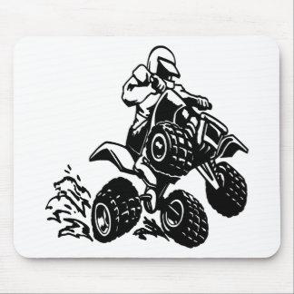 4 Wheel Quad Racing Mouse Pad