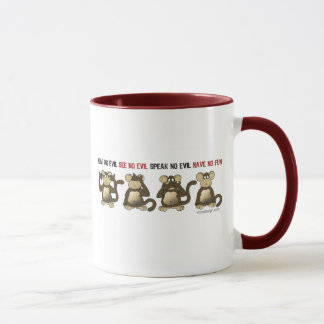 4 Wise Monkeys Mug
