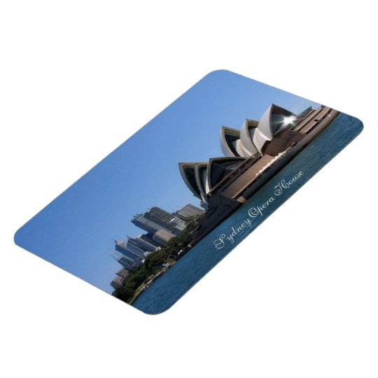 "4""x6"" Photo Magnet, Sydney Opera House Magnet"