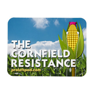 4 x 3 Magnet - The Cornfield Resistance