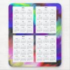 4 Year calendar (2012-2015) Mouse Mat