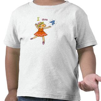 4 year old ballerina tshirts