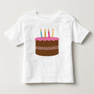 4 Year Old Birthday Toddler T Shirt
