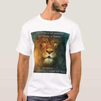 4biddenknowledge Courage and Heart T-Shirt