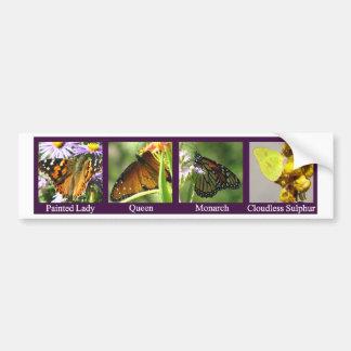 4Butterflies-PL-Q-Mon-Sul Bumper Sticker