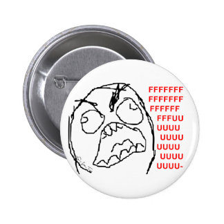 4chan Rage Guy 6 Cm Round Badge