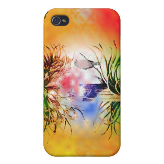 4Colors and Bird  iPhone 4/4S Covers