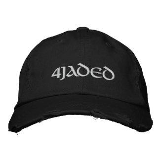4Jaded Embroidered Hat Dark