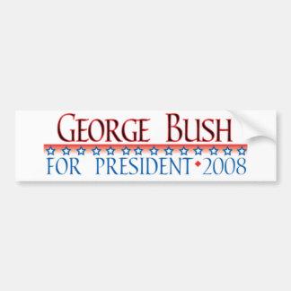 4prez-bush bumper sticker