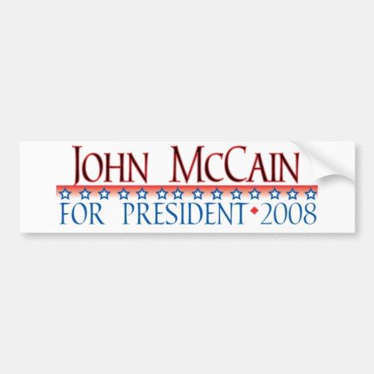 4prez-mccain bumper sticker