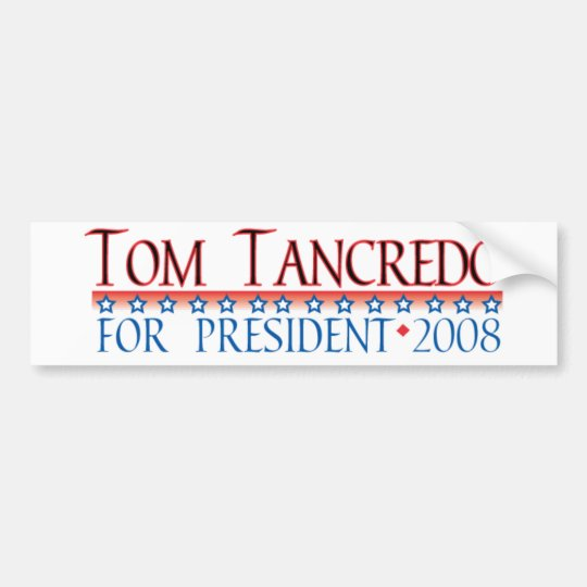 4prez-tancredo bumper sticker