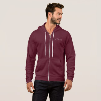 4TEN Dark Coloured Zip Hoodie