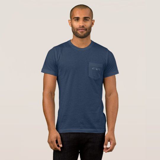 4TEN Dark Colours Pocket T-Shirt