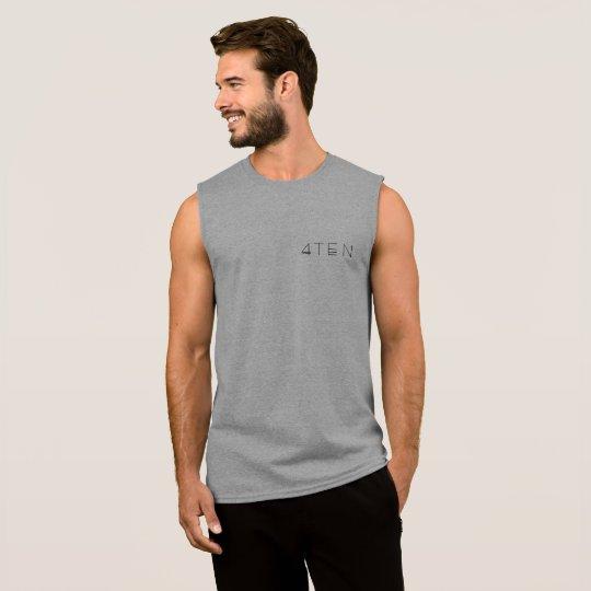 4TEN Light Coloured Vest Sleeveless Shirt