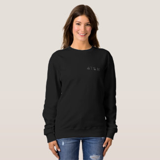 4TEN Womens Black Sweatshirt