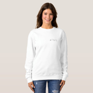 4TEN Womens White Sweatshirt