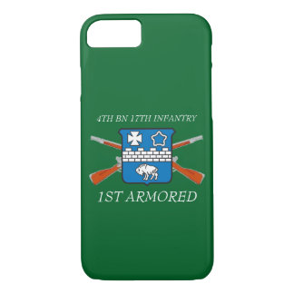 4TH BATTALION 17TH INFANTRY 1ST ARMORED CASE