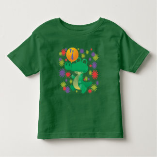 4th Birthday Alligator Toddler T-Shirt