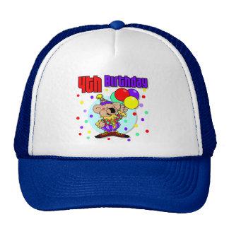 4th Birthday Australia Birthday Cap