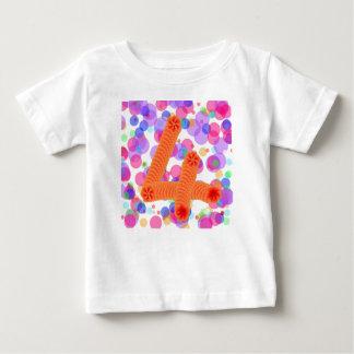 4th birthday balloons kids shirt