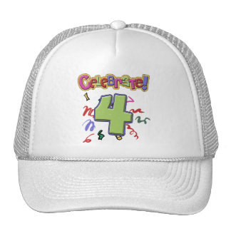 4th Birthday Cap