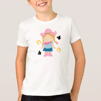 4th Birthday Cowgirl T-Shirt