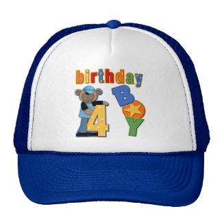 4th Birthday Gift Cap
