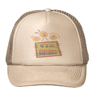 4th Birthday Gifts Cap