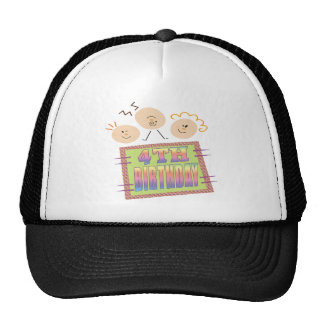 4th Birthday Gifts Cap