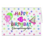 4th Birthday Granddaughter