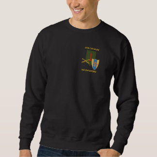 4TH CAVALRY 1ST INFANTRY DIV SWEATSHIRT