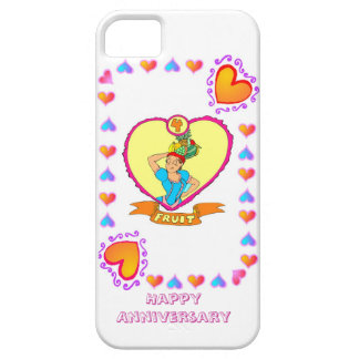 4th fruit wedding anniversary iPhone 5 case