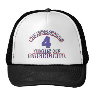 4th gift items mesh hat