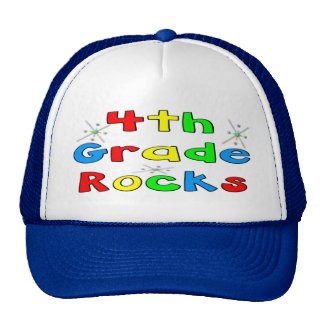 4th Grade Rocks Cap