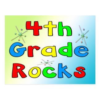 4th Grade Rocks Postcard