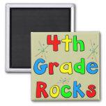 4th Grade Rocks Refrigerator Magnet