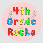 4th Grade Rocks Stickers