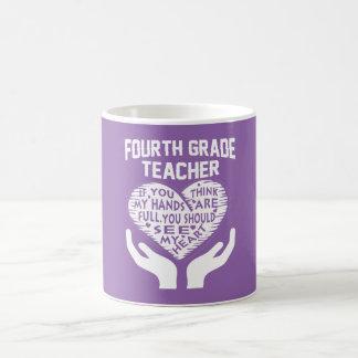 4th Grade Teacher Coffee Mug
