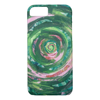 4th-Heart Chakra Opening #2 iPhone 8/7 Case