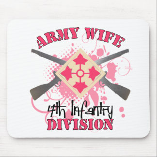 4th ID Army Wife Mouse Pad