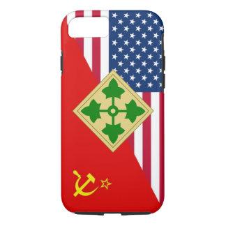 "4th Infantry Division ""Cold War"" Paint Scheme iPhone 7 Case"