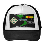 """4th Infantry Division""""IVY DIVISION"""" Ball Caps"""