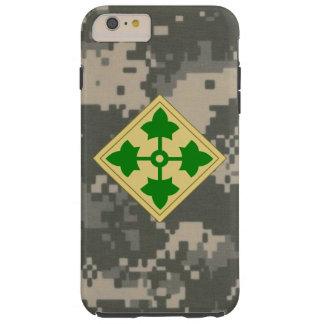 "4th Infantry Division ""Ivy Division""  Digital Camo Tough iPhone 6 Plus Case"