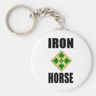 4th Infantry Division Keychain