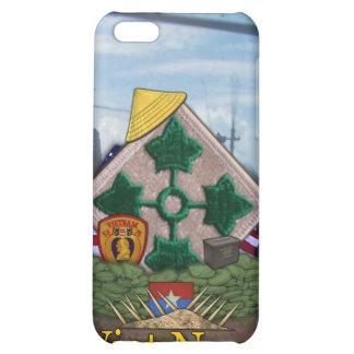 4th infantry division vietnam nam iphone case case for iPhone 5C