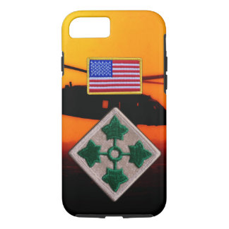 4th Infantry Division Vietnam Nam War patch iPhone 7 Case