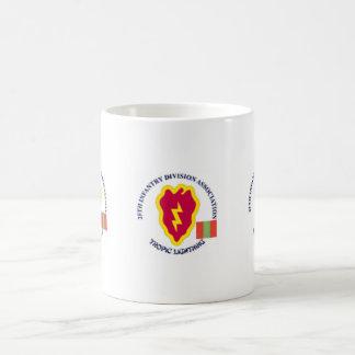 4th Infantry History Basic White Mug